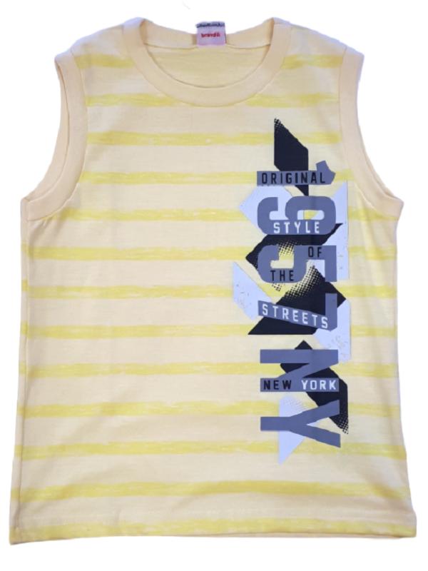 camiseta machão brandili amarela