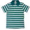 camisa polo malwee verde com listras