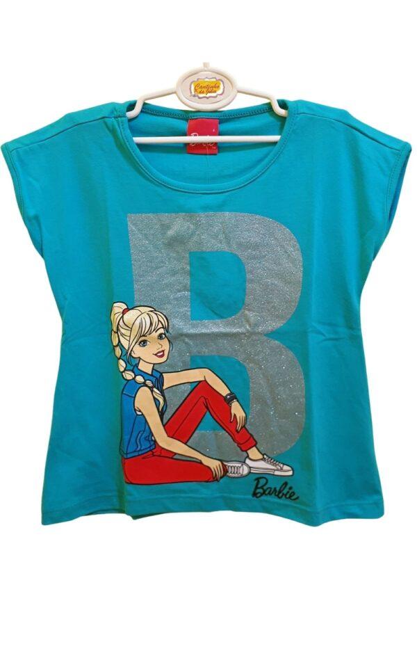 Blusa Barbie Malwee Kids Verde