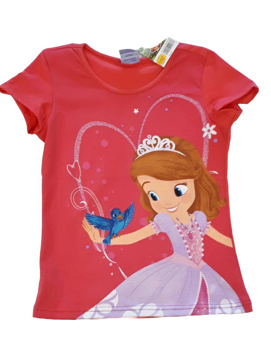 Blusa Rosa Malwee Kids Princesa Sofia