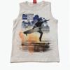 Camiseta Regata Cinza Kylly