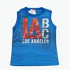 Camiseta regata masculina Los Angeles Menino Brandili