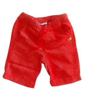 Bermuda Confort Malwee kids Vermelha