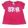 Blusa Conjunto Pijama Feminino KAV 16 Rosa Brilha no Escuro Kyly