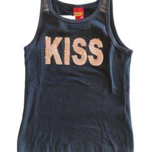 Blusa do Conjunto Kyly Kiss Preta