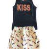 Conjunto Kyly Kiss Preta