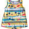 Conjunto feminino Malwee Kids - blusa amarela