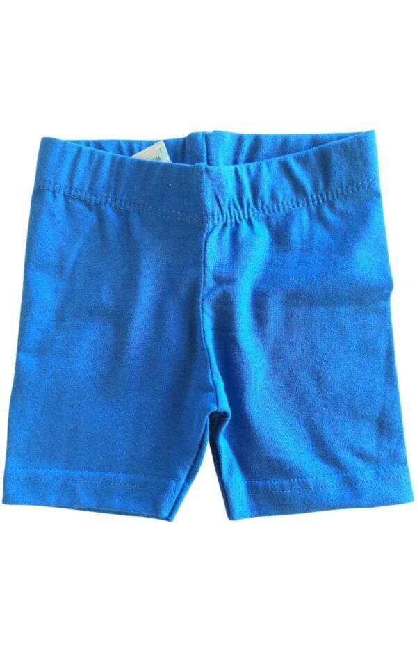 Conjunto feminino Malwee Kids - short azul