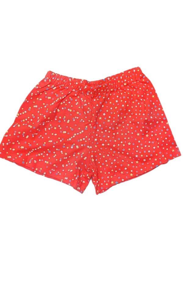 Short do Conjunto Pijama Feminino KAV 16 Branco Brilha no Escuro Kyly