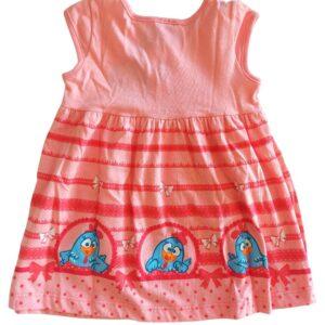 Vestido Galinha Pintadinha Brandili - costas