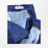 bermuda jeans malwee kids-detalhe da cintura ajustável