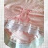 manta rosa branco-detalhe