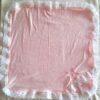 manta rosa branco